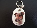 Jack Russell - Smooth Keyring