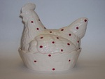 Hen on Nest Egg Holder