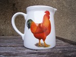 Rhode Island Red Cockerel Jug