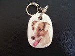 Jack Russell - Haired Keyring